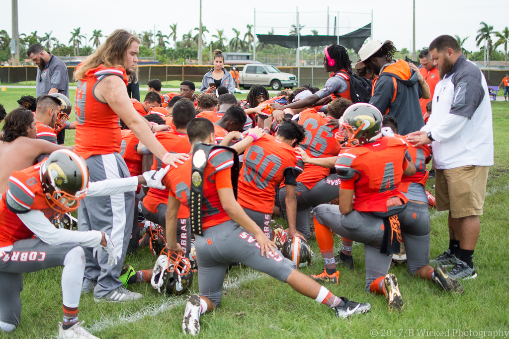 South Miami Cobras victorious over Westland Wildcats, 49-0.